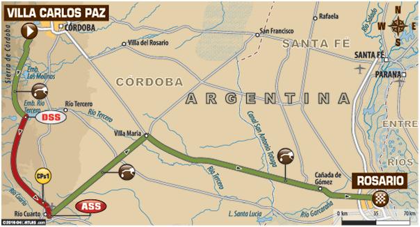 LIVEBLOG: Dakar 2016 – Etappe 13: Villa Carlos Paz – Rosario