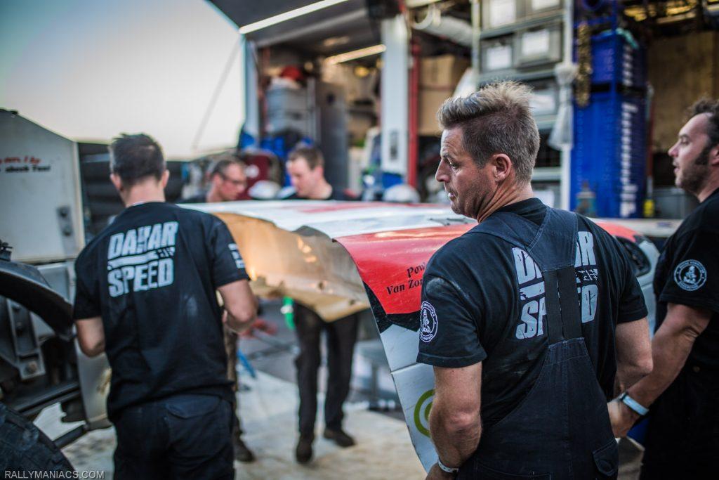 Twaalfde plaats ultieme teamprestatie DakarSpeed