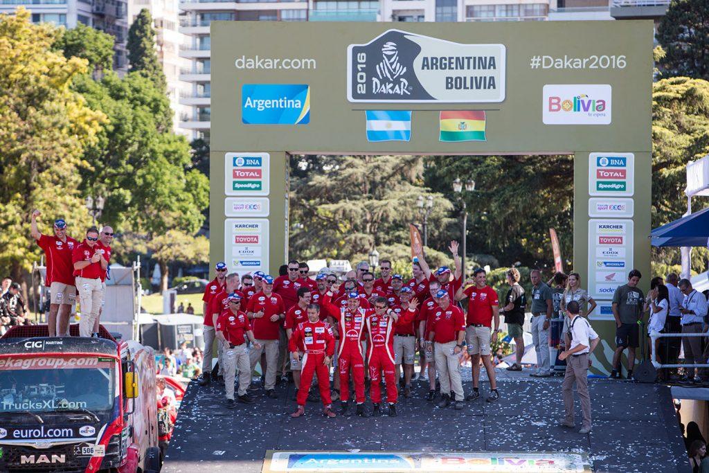 EVM sluit Dakar met tevreden gevoel af