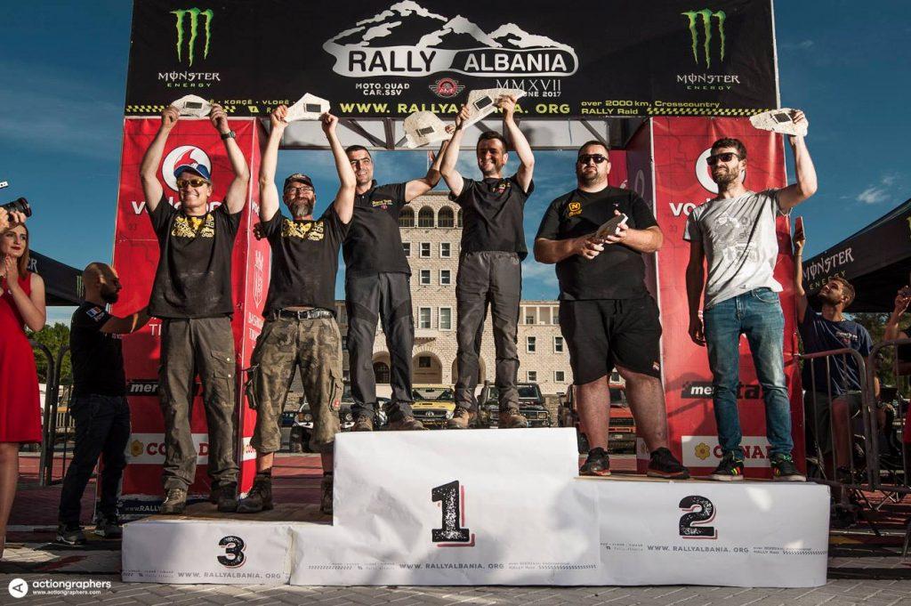 Pastori en Sina winnen Rally Albania 2017