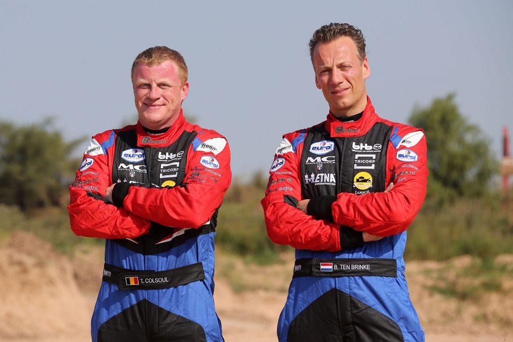 Bernhard en Tom samen terug in Hellendoorn Rally