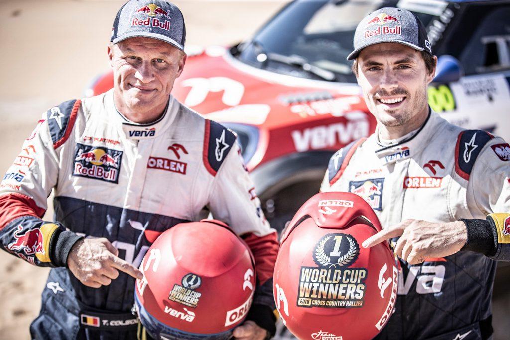 Al Attiya wint Rallye du Maroc, Przygonski wereldkampioen