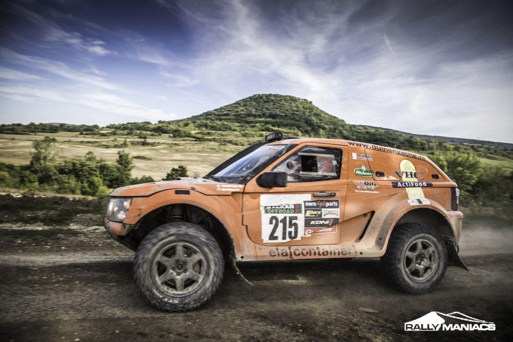 Grote Nederlandse inbreng Balkan Offroad Rallye