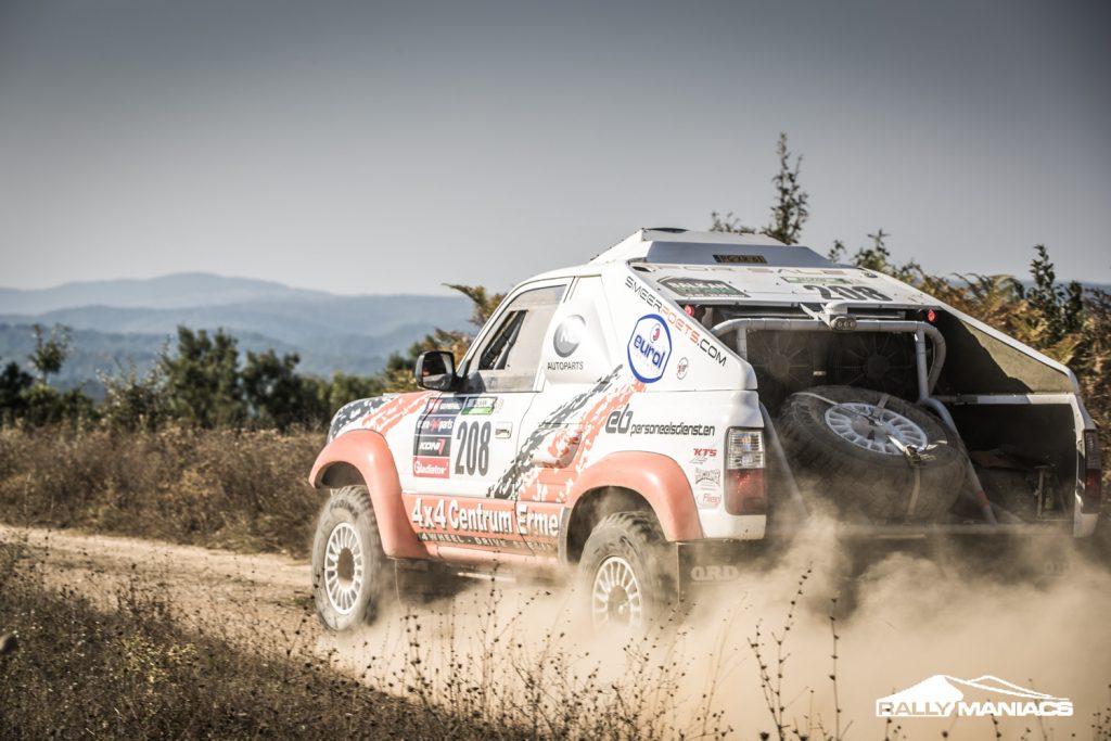 Nederlanders doen goede zaken op derde dag Balkan Offroad Rallye