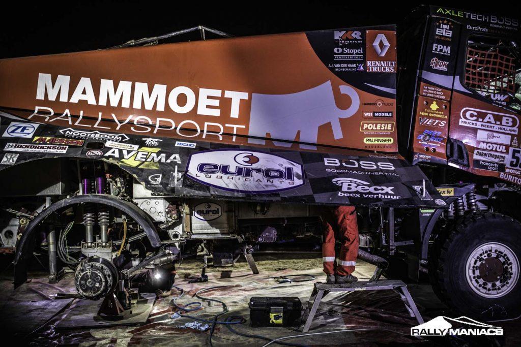 Eurol in Dakar: Van Kasteren in de top-vijf tijdens achtste etappe