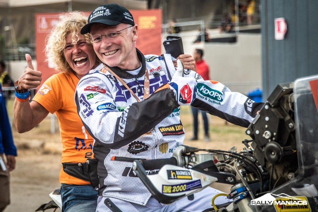 Dakar 2019 finishpodium