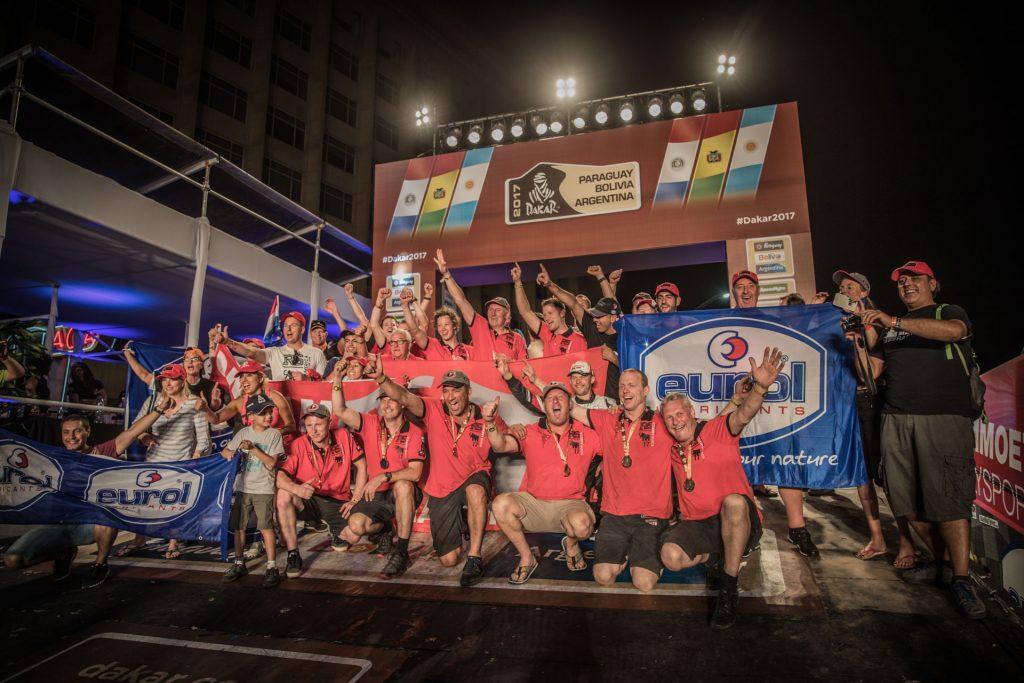 Eurol in Dakar: Aan de finish na een lange reis