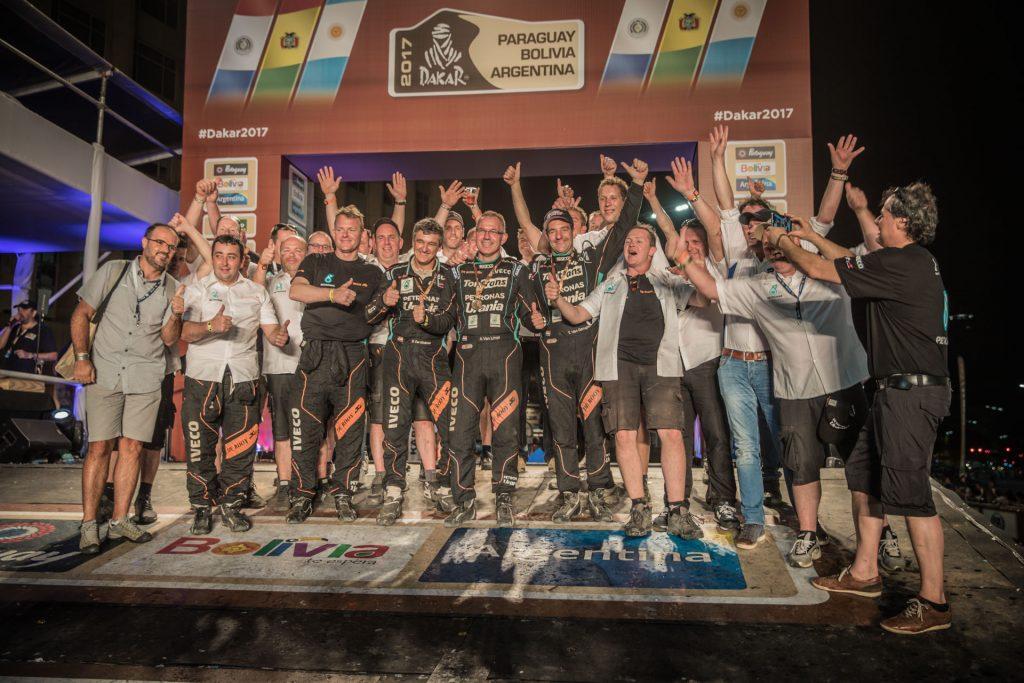 Rallymaniacs verslaat de Dakar 2017