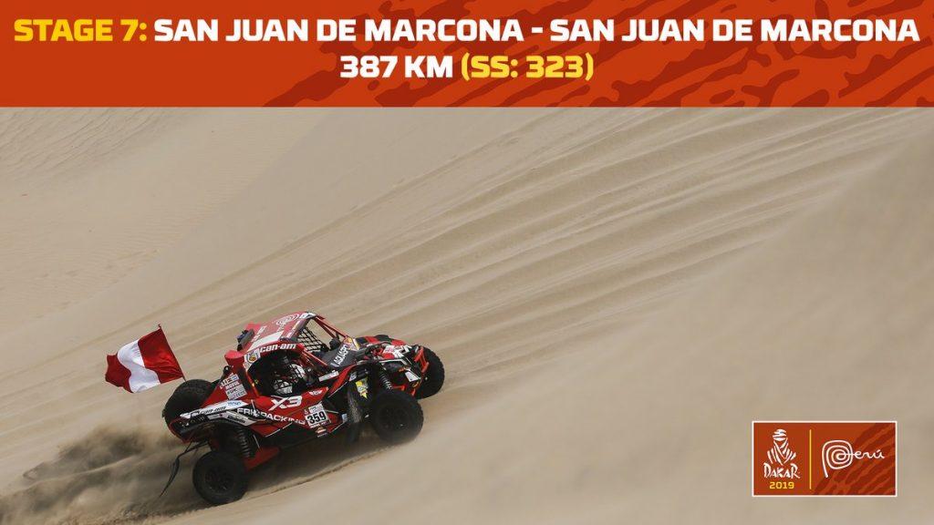 LIVE – Dakar 2019: Etappe 7: San Juan de Marcona – San Juan de Marcona