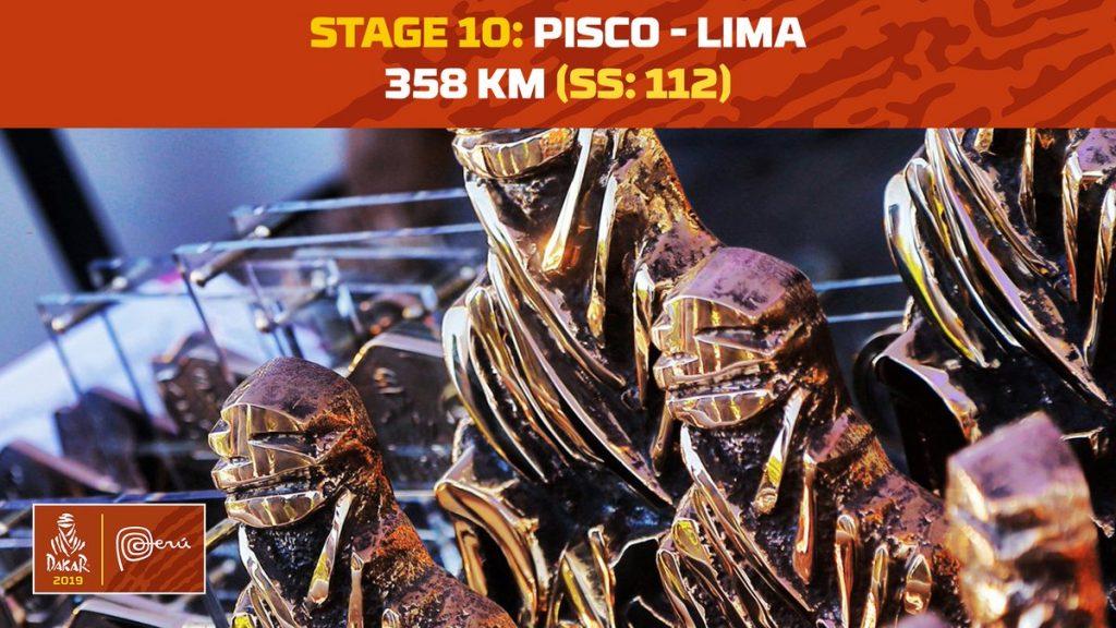 LIVE – Dakar 2019: Etappe 10: Pisco – Lima