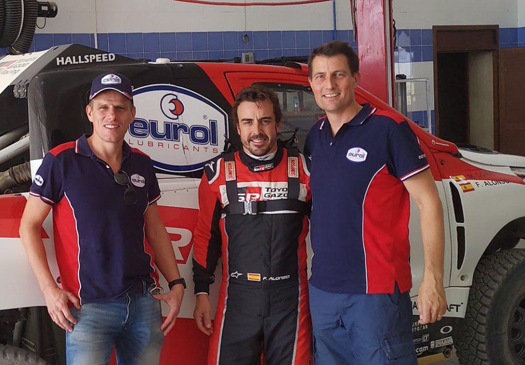 Eurol verlengt partnerschap met Toyota Gazoo Racing SA voor Dakar 2020