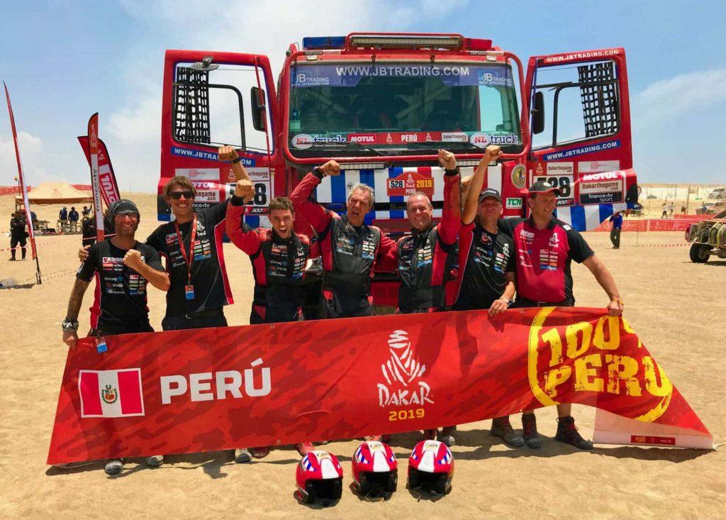 Nieuwe Renault racetruck voor Firemen Dakarteam