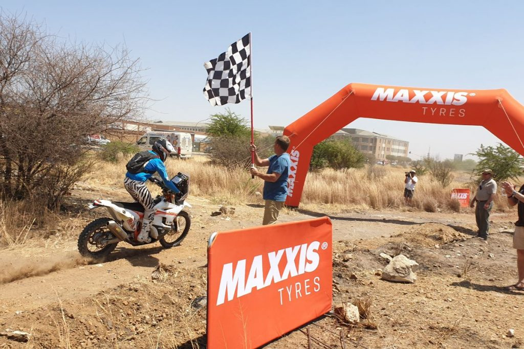 Kalahari Rally 2019 finish: winnaars!