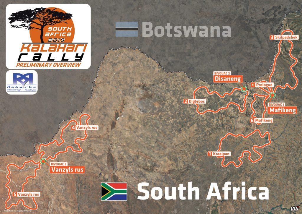 Kalahari Rally 2019 : 5 – 12 oktober
