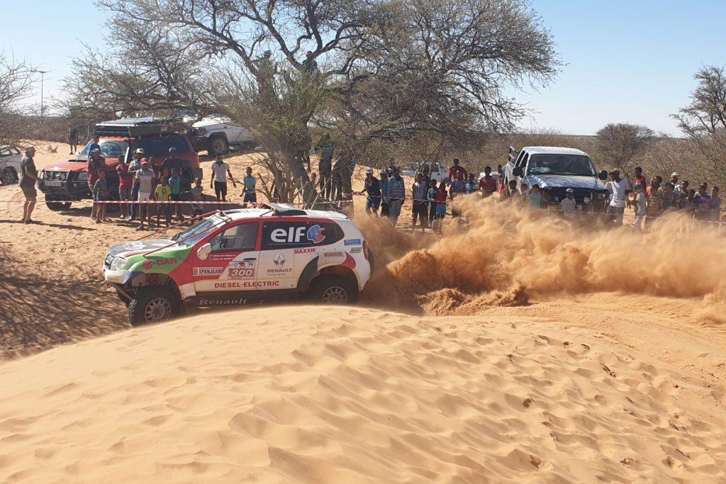 Kalahari Rally 2019 Dag 2: meer rijden, minder navigeren