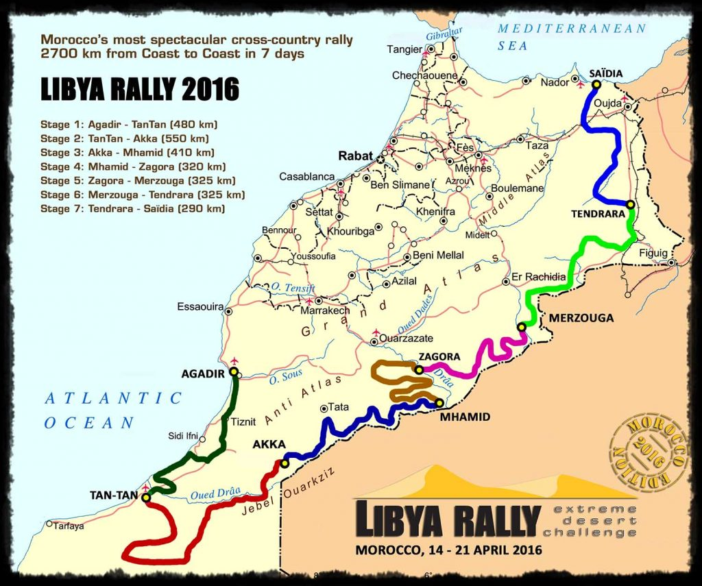 Libya Rally 2016 loopt vol