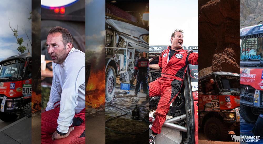 Mammoet Rallysport 'super blij' met zesde plaats in Dakar Rally 2016