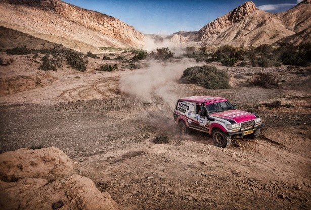 Tuareg Rally 2019: De woestijn kleurt roze