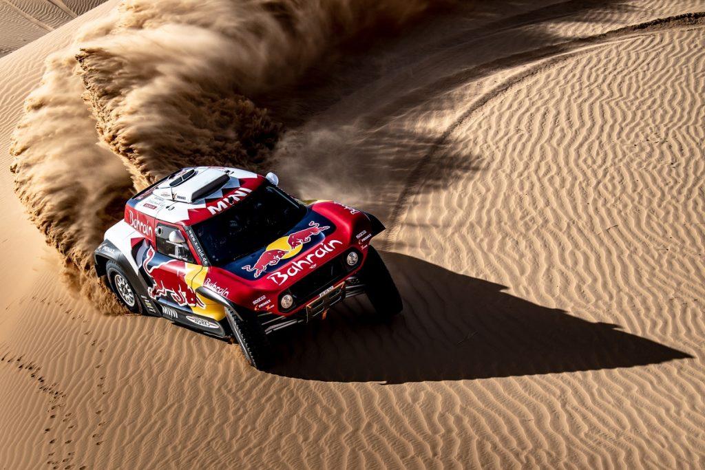 X-raid Mini met Peterhansel en Sainz naar Dakar Rally