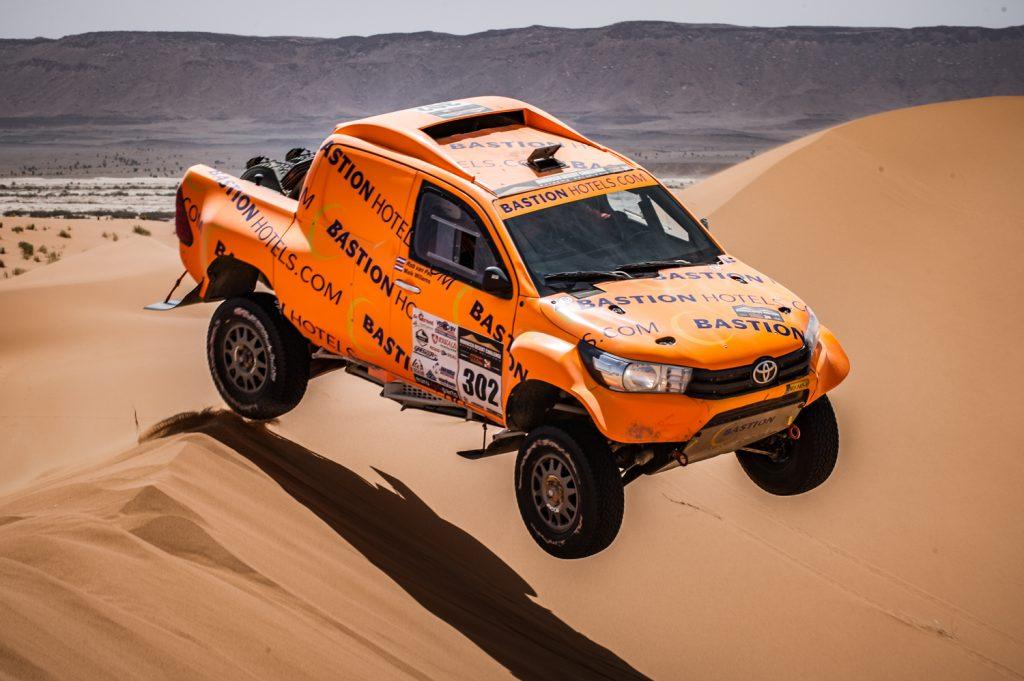 Maik Willems geniet in de duinen in vijfde etappe