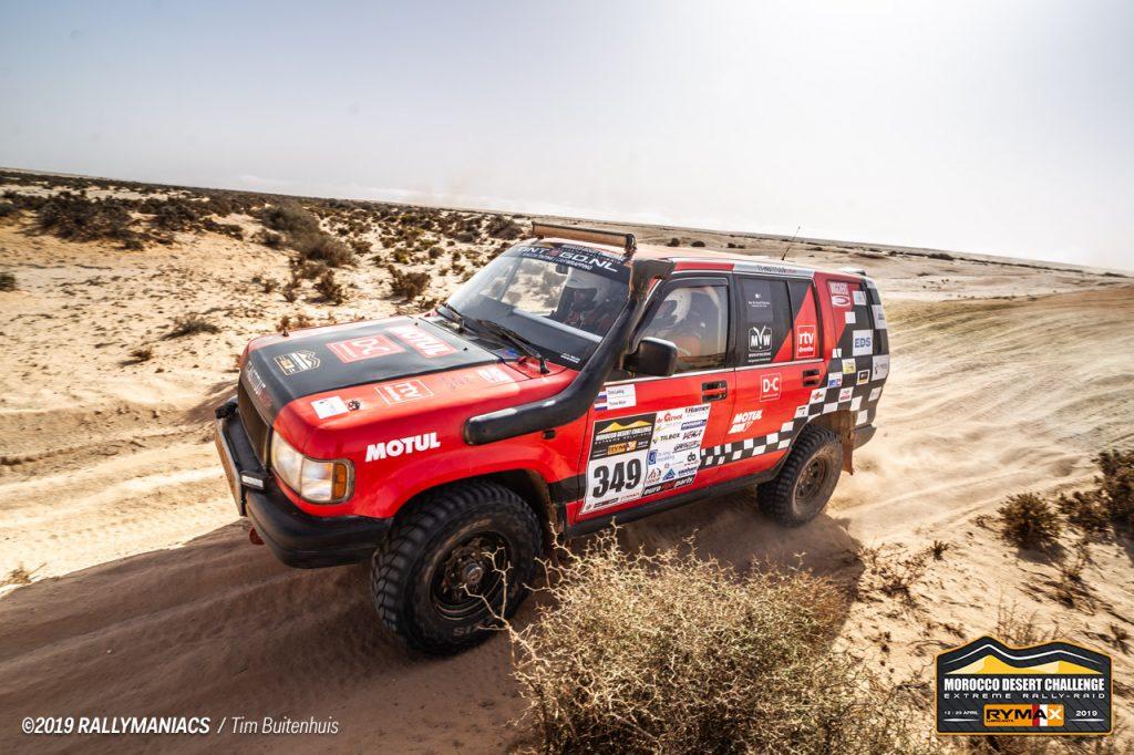 Studenten Drenthe College gaan opnieuw woestijn in