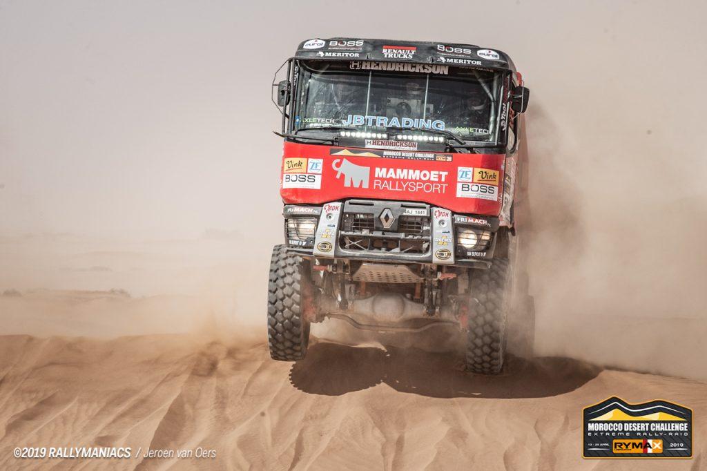 Van den Brink klopt aan de deur in Morocco Desert Challenge
