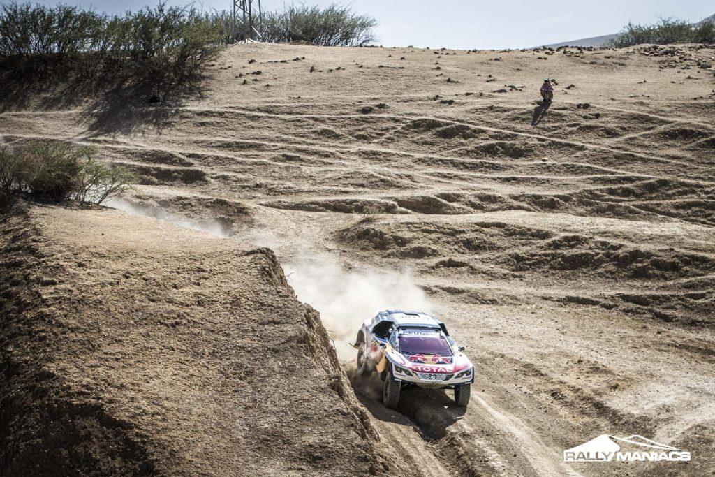 OiLibya Rally 2017: Loeb domineert in eerste etappe