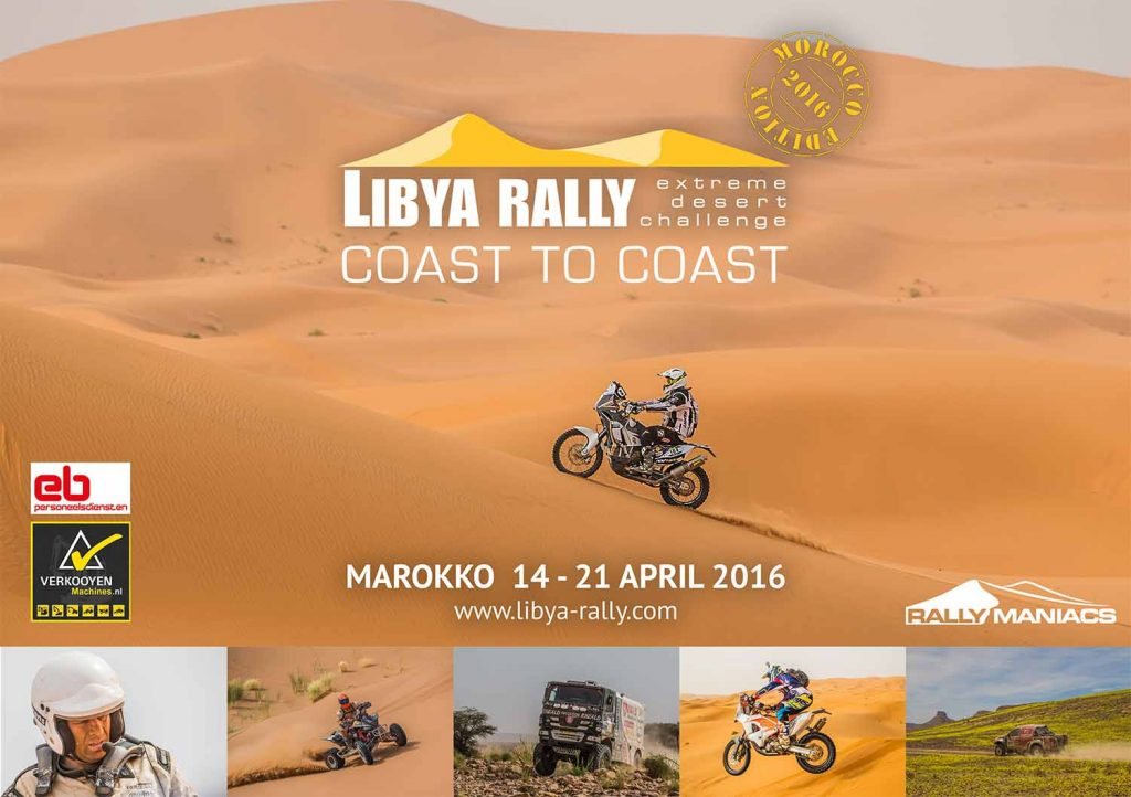 Libya Rally 2016 presentatie 24 september a.s.