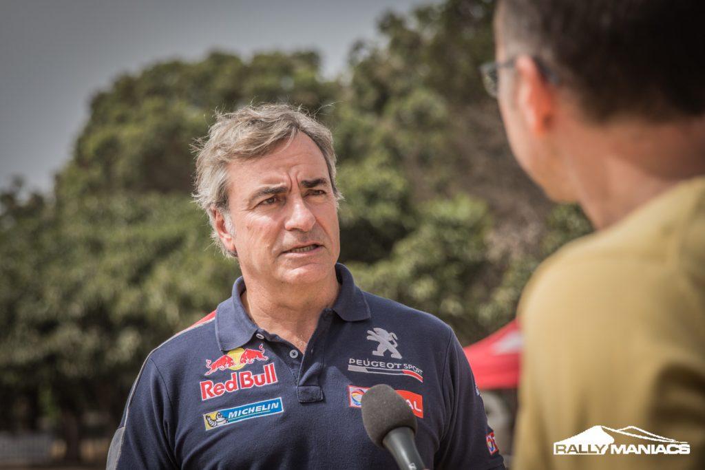 Sainz verdedigt Dakar titel met buggy van X-Raid