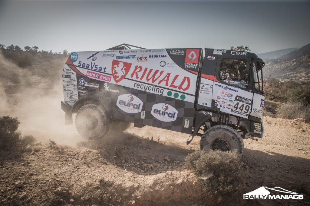 Huzink begint OiLibya Rally als snelste truck