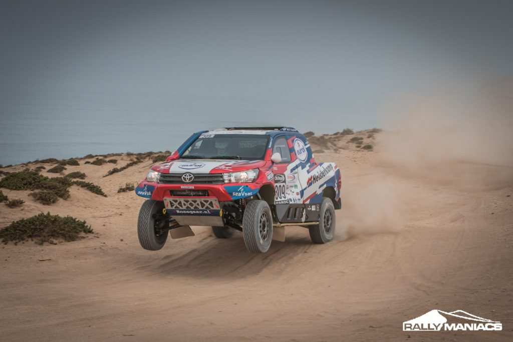 Erik van Loon 'meer dan tevreden' na eerste etappe OiLibya