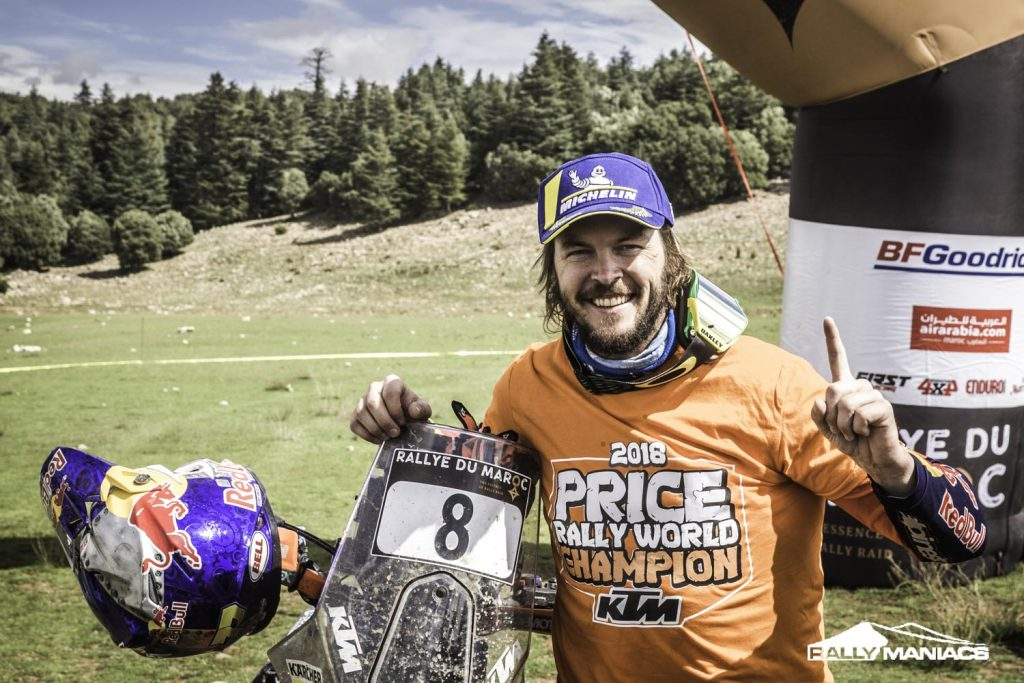 Price wereldkampioen na winst in Rallye du Maroc