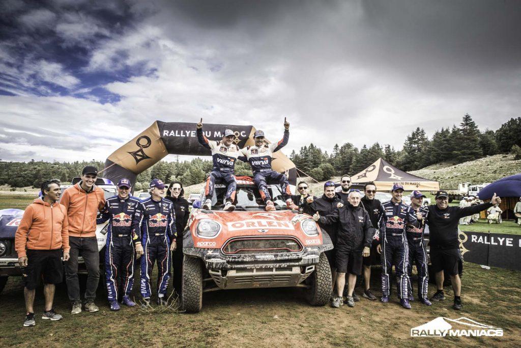 Price en Al-Attiyah winnen Rallye du Maroc 2018