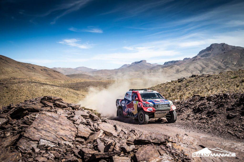 Bandenmanagement belangrijk in eerste etappe Rallye du Maroc