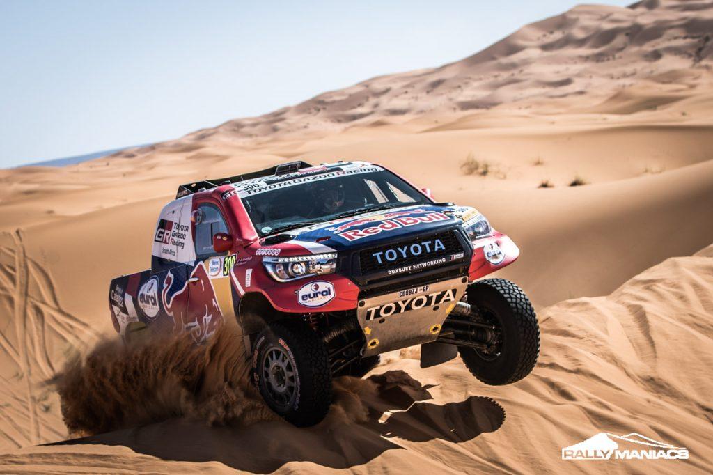 Barreda en Al-Attiyah winnen tweede etappe Rallye du Maroc