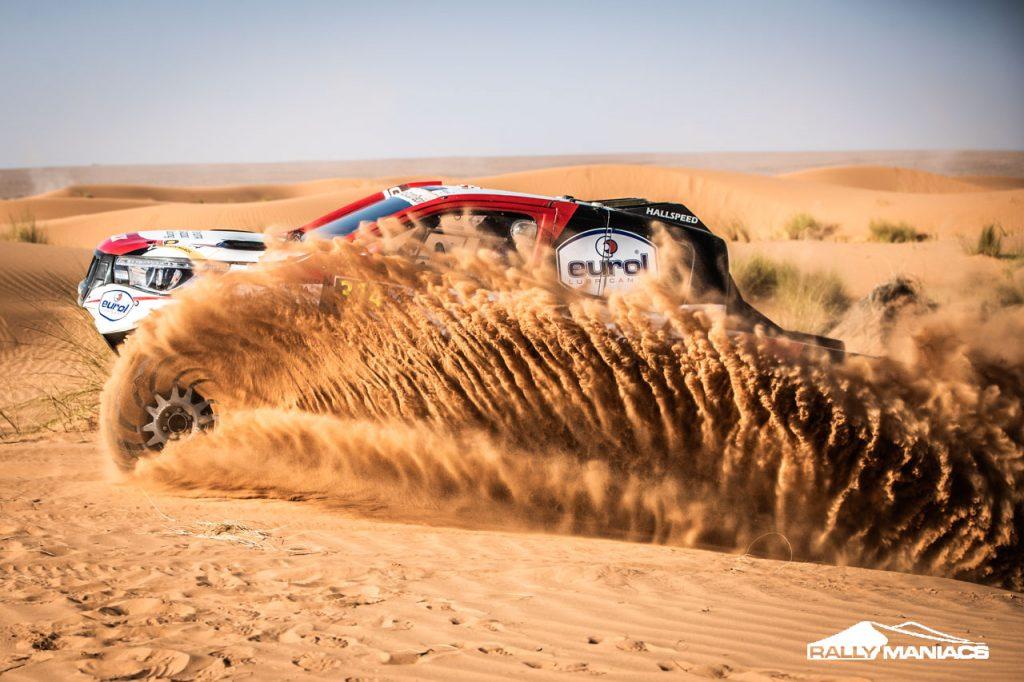 Alonso en Ten Brinke crashen op bijltjesdag in Rallye du Maroc