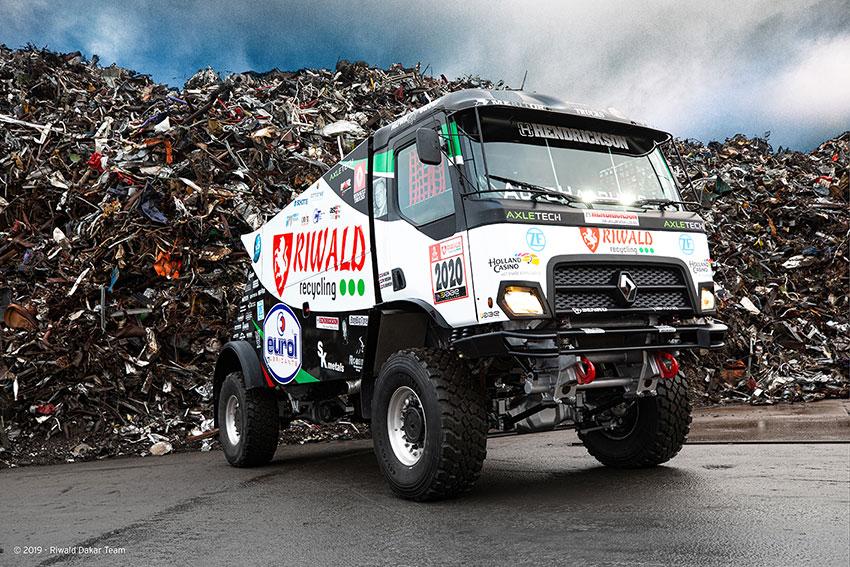 Wereldprimeur: Riwald Dakar team met hybride rallytruck naar Dakar 2020