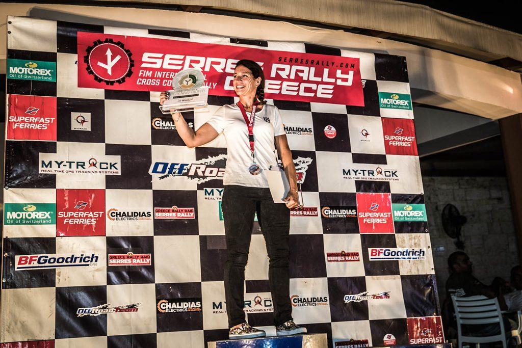 Eerste Rallye Raid Trophy's uitgereikt na Serres Rally