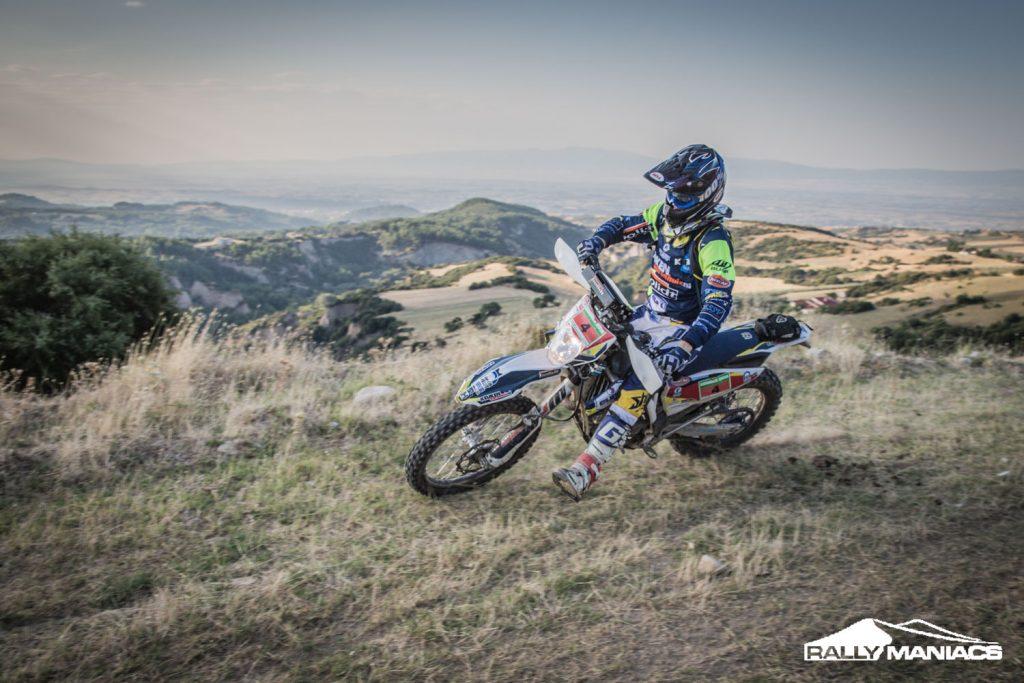 Van Pelt in de top-5 op eerste serieuze dag Serres Rally