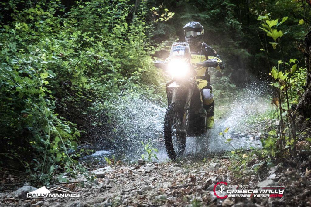 Svitko domineert in tweede etappe Serres Rally