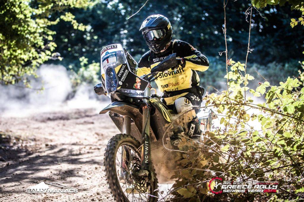 Opnieuw ruime dagzege voor Svitko in Serres Rally