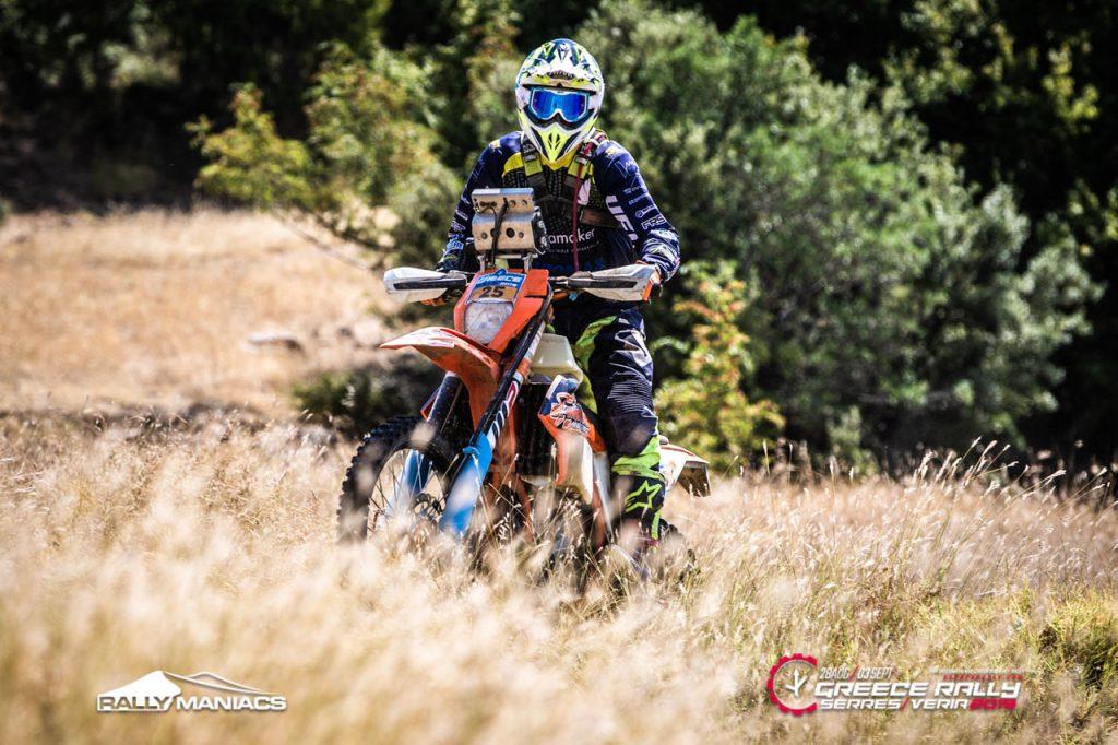 Van Dal in top-tien van korte vierde etappe Serres Rally