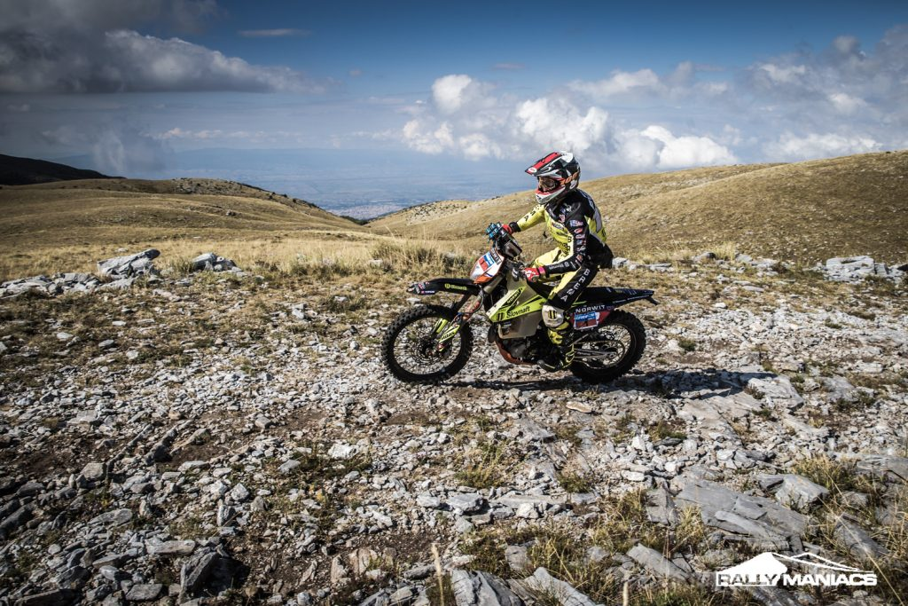 Svitko wint vierde proef op rij in Serres Rally