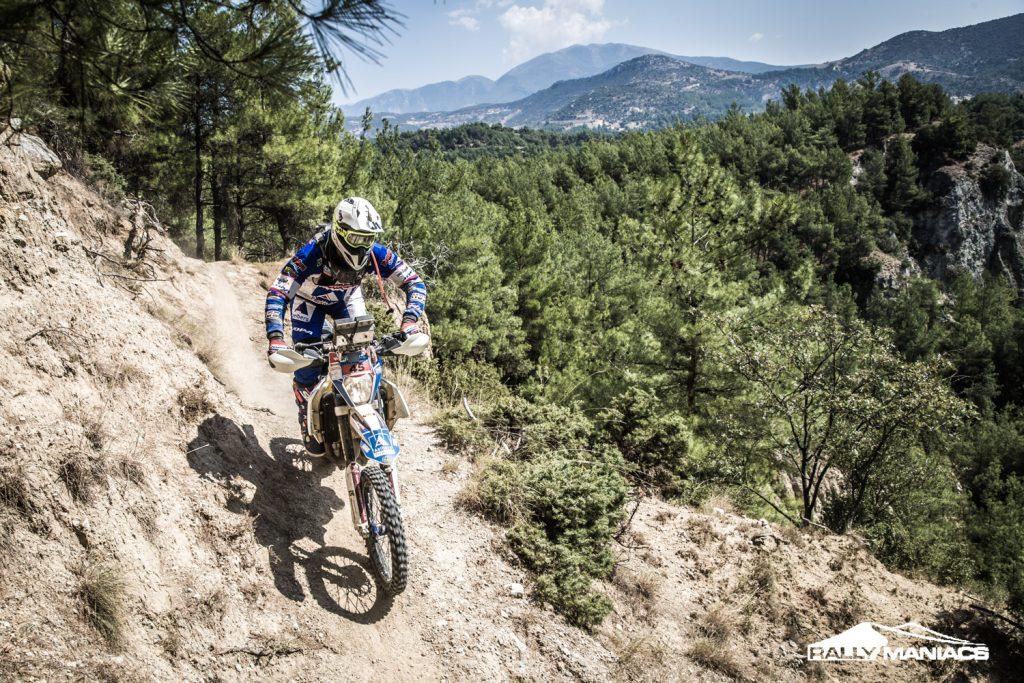 Met van der Velden Motoren naar de Serres Rally 2018