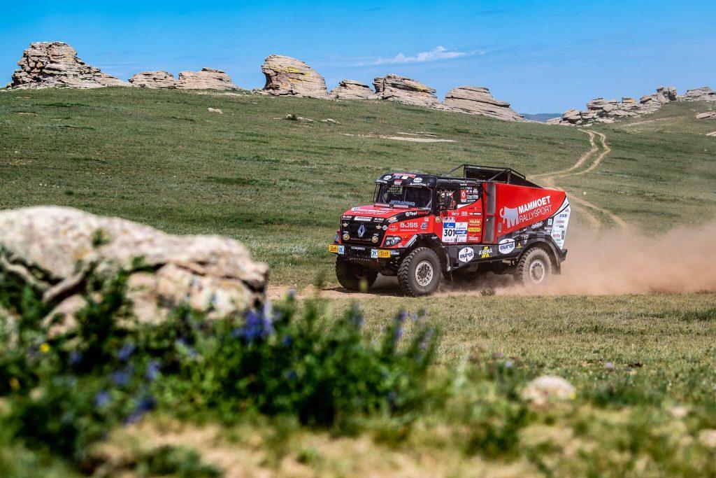 SWR2019 Dag 6: Mammoet Rallysport kijkt uit naar het zand in Silk Way Rally