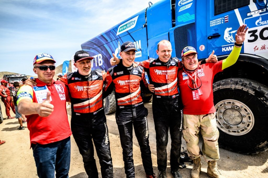 SWR2019 finish: Vierde plaats in Silk Way Rally geeft Mammoet Rallysport voldoening