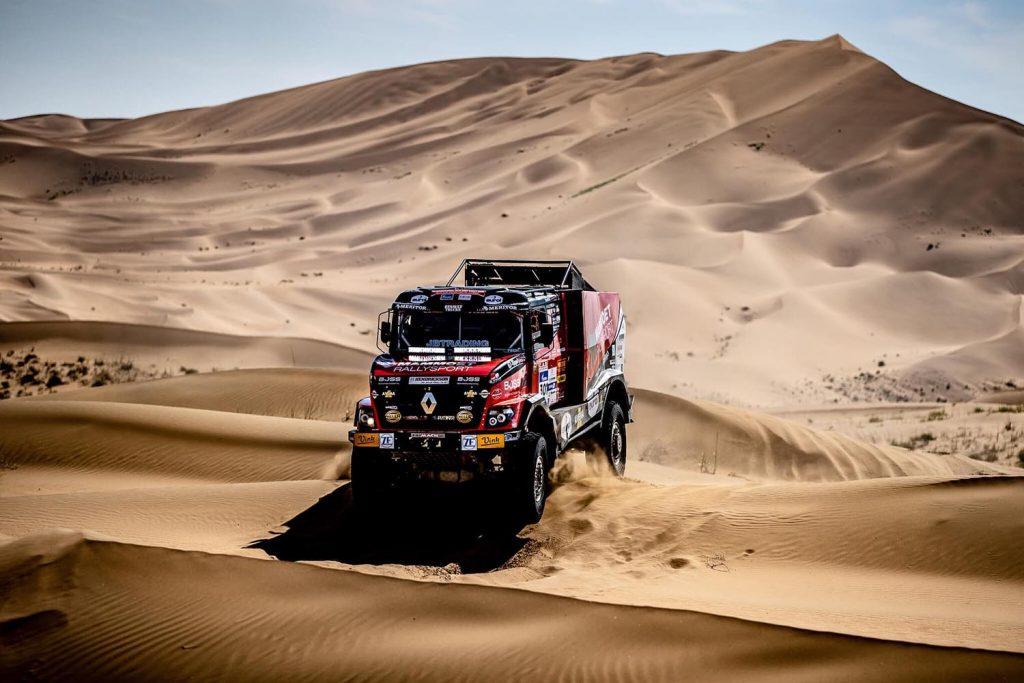 Mammoet Rallysport blijft goed bij de les in Silk Way Rally