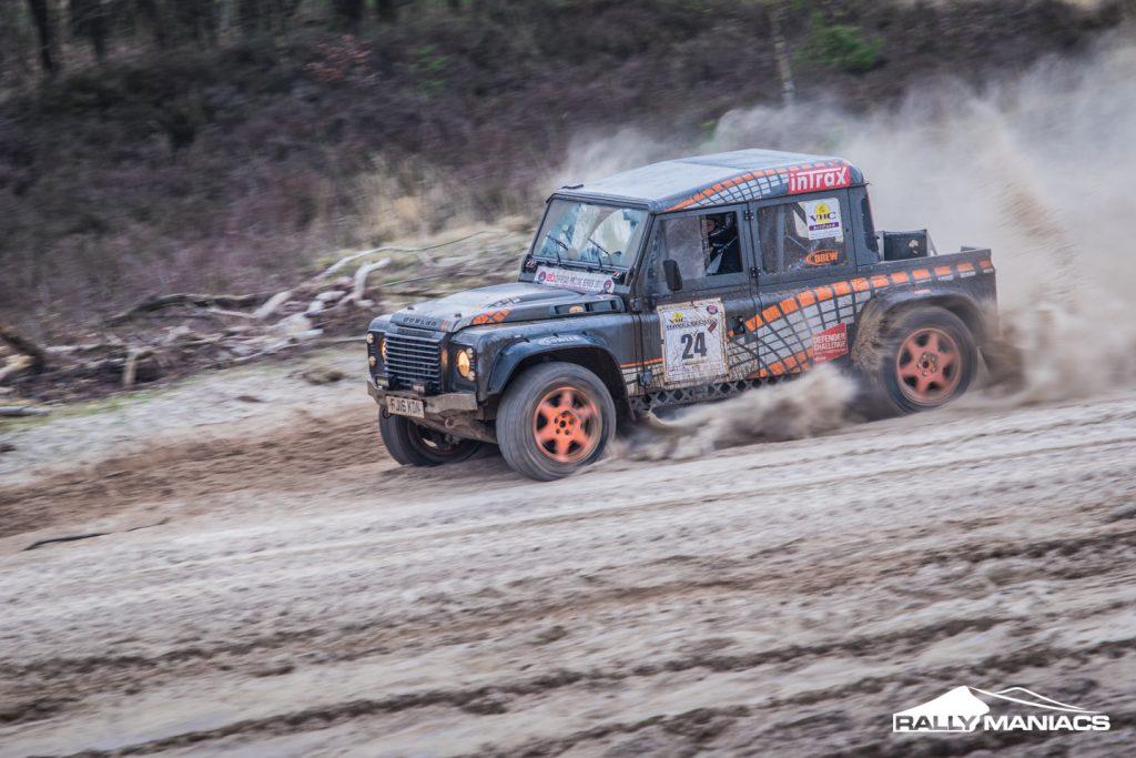 Het blijft zoeken in Havelte tijdens NK Offroad Racing