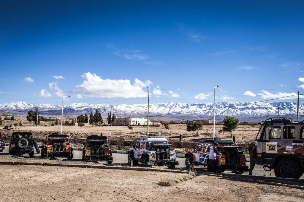 Deelnemers klaar voor 2018-editie Tuareg Rallye