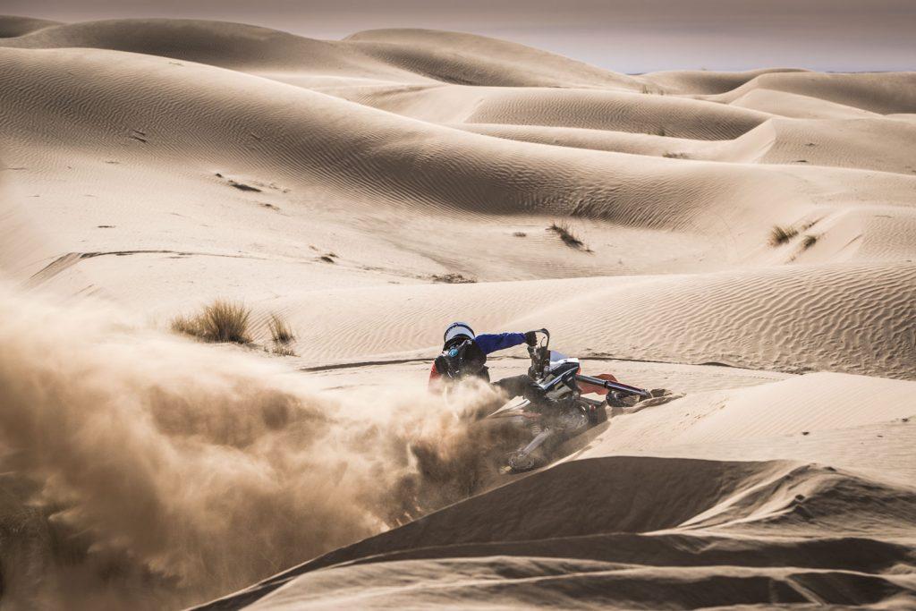 Zes rijders voltooien Koningsetappe Tuareg Rallye: Kaiser zegeviert, Bulsink derde